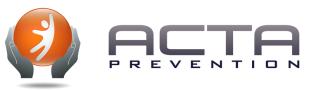 Logo ACTA PRÉVENTION - partenaire de SMACL Assurances