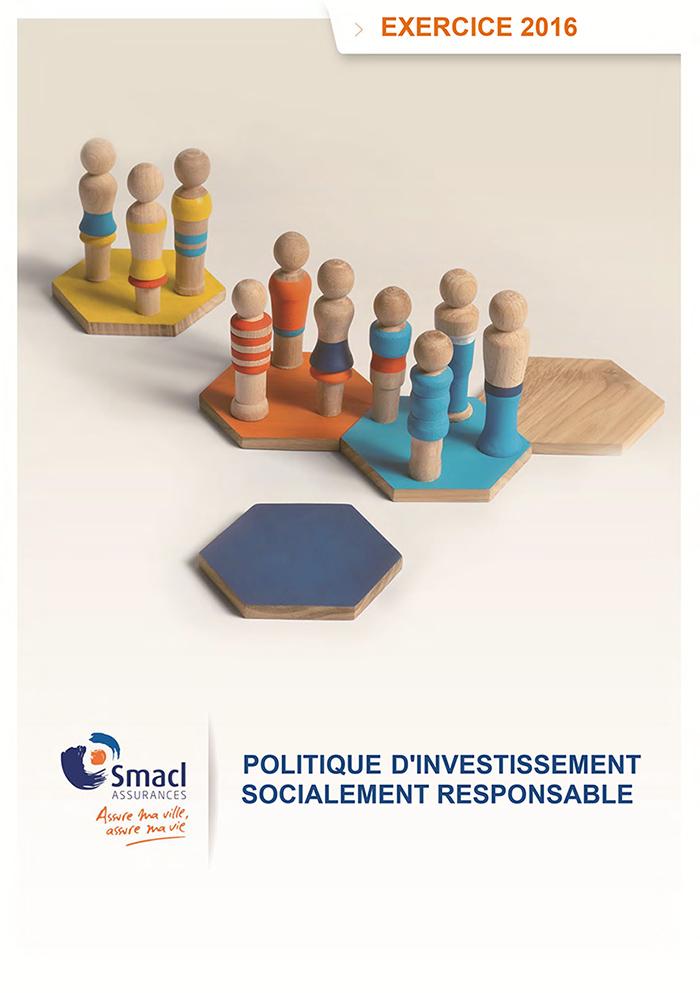 Politique d'investissement socialement responsable 2016