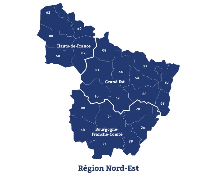 Région Nord-Est Région Nord-Est - Mandataire de SMACL Assurances 81711e31c205